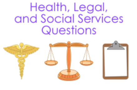 Health, Legal, and Social Service Tutorial  1