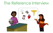 The reference interview thumbnail