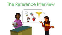 The reference interview tutorial image
