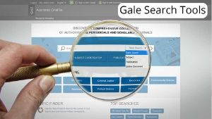 gale search thumb